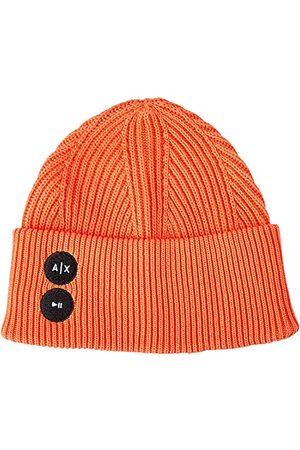Armani Dames Ribbed Cotton Beanie Hat