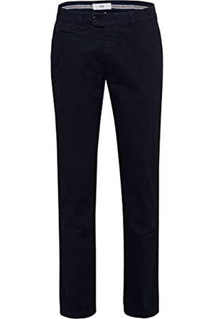 Brax Triplestone chino plat geweven broek voor heren,Blau (Perma Blue 21),40W x 32L