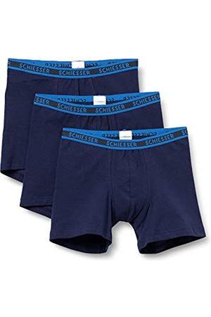 Schiesser Organic Cotton Boxershort voor jongens, verpakking van 3 stuks, meerkleurig 1, 128 cm