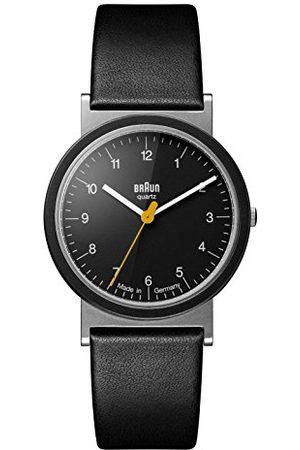 von Braun Unisex datum klassiek kwarts horloge met lederen band AW10