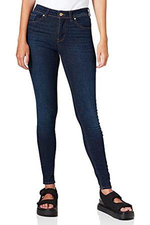 VERO MODA VMLUX MR Slim RI347 GA NOOS Jeans, Dark Blue Denim, S/34