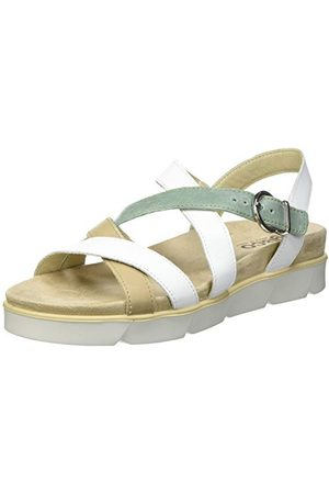 IGI&CO Dames DDZ 71671 sandalen, Bianco, 35 EU