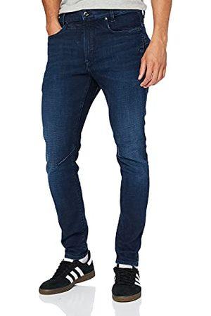 G-Star D-STAQ 3D Slim Jeans voor heren, (Worn in Ultramarine C051-c236), 34W x 34L
