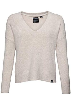 Superdry Dames Isabella Slouch Vee Knit Pullover