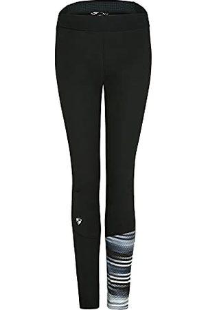 Ziener Dames Sportleggings - Softshellbroek voor dames, langlauf-tight; winddicht, elastisch Nura