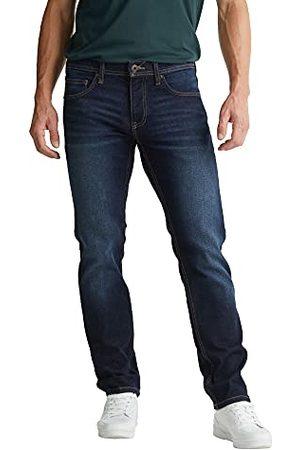 Esprit Heren Straight Jeans, 901/ Donker Wash 06, 38W x 34L