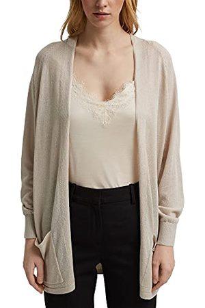 Esprit Gebreid vest voor dames, 290/lichtbeige, XS