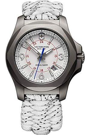 Victorinox Dames analoog kwarts horloge met stof armband 241772.1
