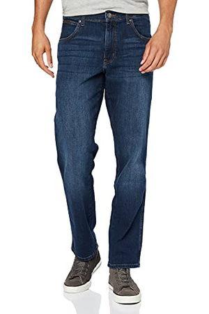 Wrangler Texas Contrast Straight Jeans voor heren, (Dark Storm), 38W x 34L