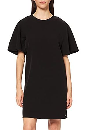 Armani Korte mouwen voor dames, rugdetail, casual jurk.