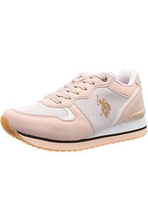 Ralph Lauren U.S. Polo Assn FEY4228S8YM1-PINK_40 Sneakers voor dames, EU