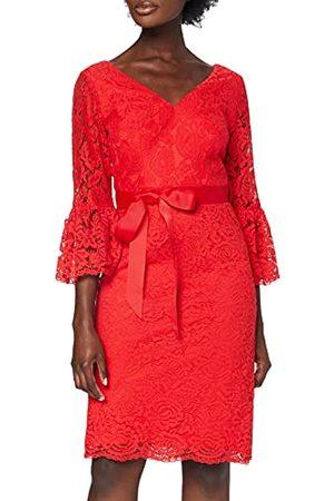 Gina Bacconi Dames Scallop kanten jurk cocktail