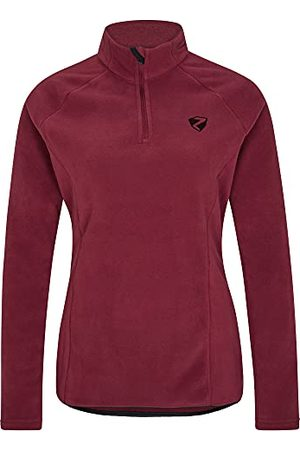 Ziener Jemila Skitrui voor dames, functioneel shirt, lange mouwen, ademend, fleece, warm