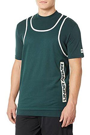 Under Armour Heren Tank Ua Volgen Hybride Mock Mouwloos T-Shirt, , XXL