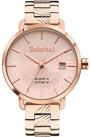 Timberland Dames analoog kwarts horloge met roestvrij stalen armband TDWLH2101702