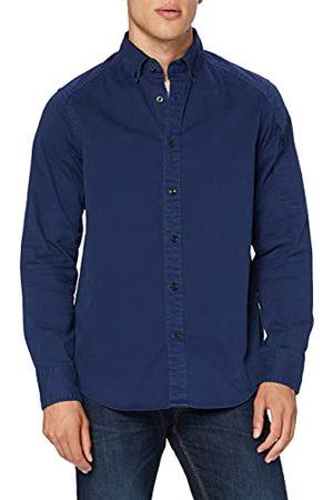 G-Star Heren Casual - Heren Stalt Button Down Pocket Straight Jeanshemd