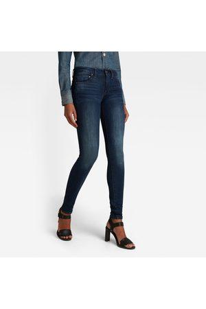 G-Star Midge Zip Mid-Waist Skinny Jeans
