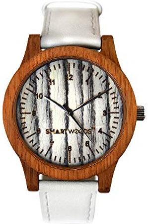 SmartWoods Smart Woods Watch, houten horloge, dameshorloge, uniseks horloge, natuurproduct, ecologisch, steen, architectural bette, natuurlijk hout, leren band, silicone band.