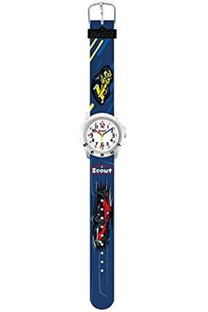 Scout Jongens-analoog kwartshorloge met kunststof armband 280393032