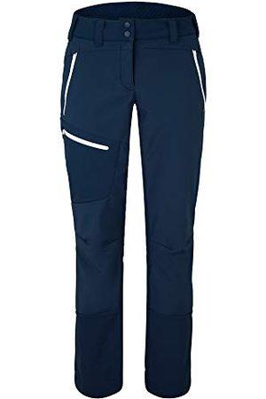 Ziener Dames Softshell Hybrid broek | Skitour, winddicht, elastisch, functioneel Nolane