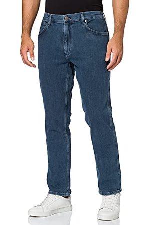 Wrangler Heren Greensboro Straight Jeans, (Ice Lake), 30W x 36L