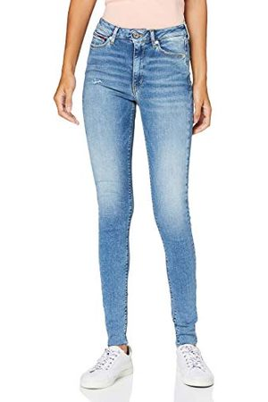 Tommy Hilfiger Dames Sylvia Hr Super Skinny Ankle Rxy Straight Jeans