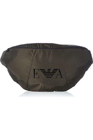 Emporio Armani Dames Swimwear Maxi Sling Bag Monogram, eenheidsmaat, legergroen, Eén maat