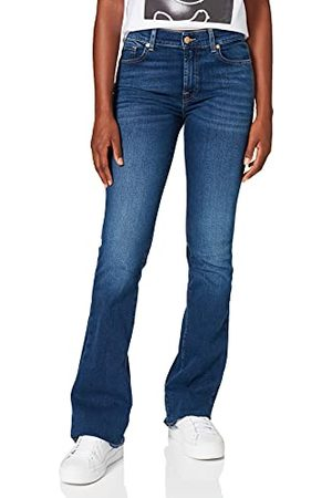 7 for all Mankind Bootcut Mid Blue Jeans voor dames