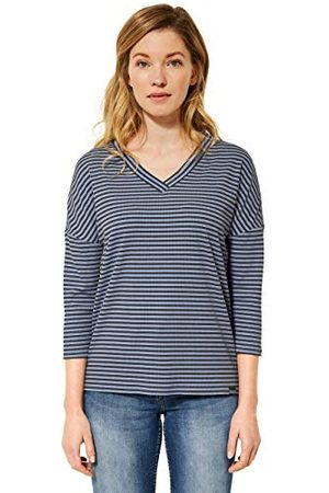 CECIL T-shirt voor dames, Quiet Blue, XL