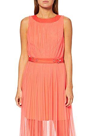 Armani Mouwloze jurk voor dames, tule en riemdetail.