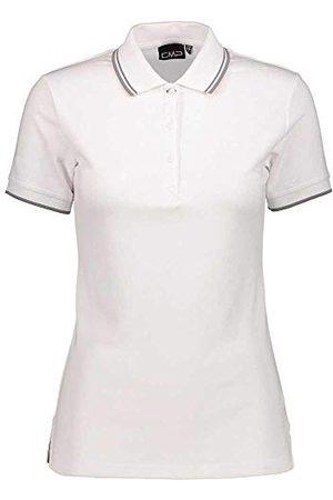 CMP Dames polo T-shirt, (Bianco), D40