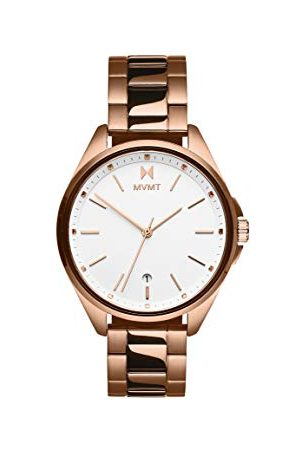 MVMT Dames analoog kwartshorloge met goudkleurige roestvrij stalen armband 2800002-D