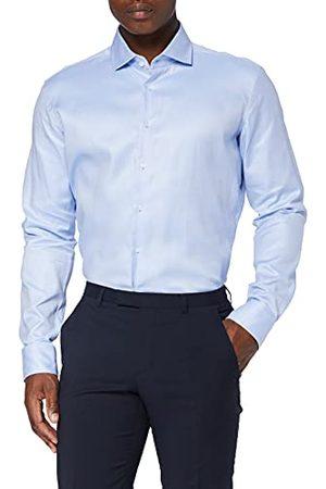 Seidensticker Zijdesticker heren business overhemd – eenkleurig, elegant overhemd met Kent kraag en hoog draagcomfort – pasvorm X-Slim Fit – lange mouwen – 100% katoen