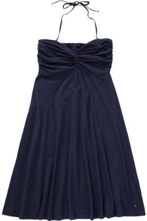 Tommy Hilfiger Damesjurk (knielang) 1H87610724/ SIESTA Strapless Dress, (475 Core Navy), 36 NL
