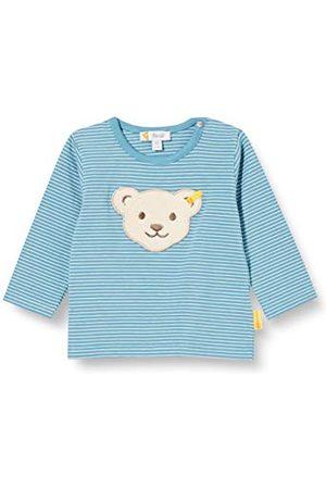 Steiff Jongens Lange mouw - Baby-jongens met zoete teddybärapplication T-shirt lange mouwen