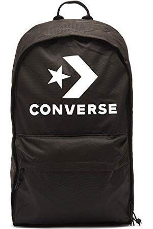 Converse Unisex, Volwassen EDC 22 Rugzak Star Chevron Print, (Nero), 46 centimeter
