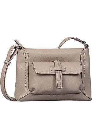 Gabor Dames Tabea Cross Bag S, S, lichtgrijs, Small