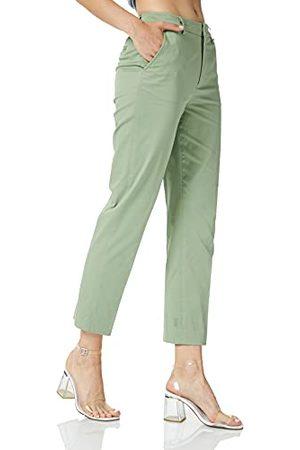 Scotch&Soda Dames Abott Regular Fit Chino in Mercerized Organic Cotton broek