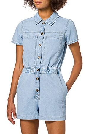 ONLY Onlscarlett Life Ss DNM Playsuit NAS Jumpsuit