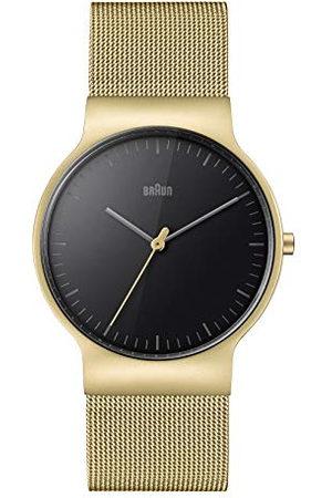 von Braun Unisex volwassenen analoog kwarts horloge met roestvrij stalen armband BN0211BKGDMHG