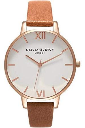 Olivia Burton Vrouwen analoog Japans quartz horloge met lederen band OB16BDW19