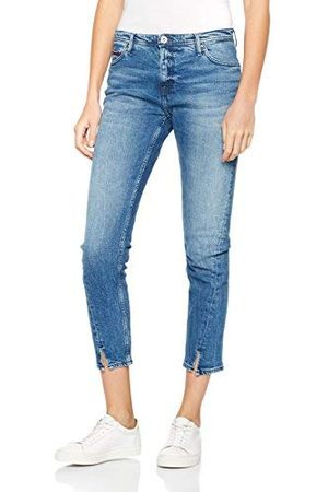 Tommy Hilfiger Dames TWISTED CROPPED LANA DUBST Straight Leg Jeans