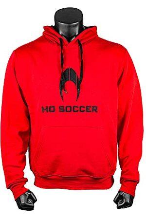 Ho soccer Hoodie Red Sweatshirt, Volwassenen, Unisex, Rood, S