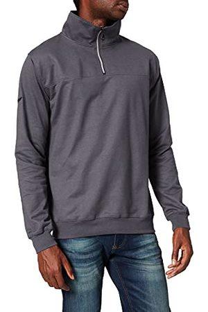 Trigema Sweatshirt voor heren, Violet (Mauve-melange 692), 3XL