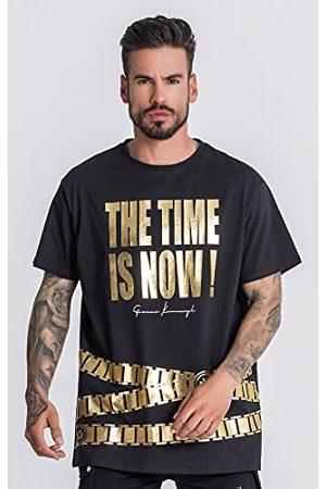 Gianni Kavanagh Black Forever More Oversized T-shirt voor heren