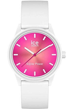 Ice-Watch ICE solar power Coral reef - dameshorloge met siliconen armband - 019031 (Maat S)