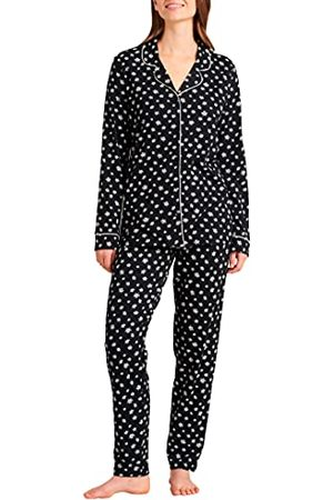 Schiesser Lange pyjamaset voor dames.