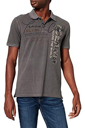 Key Largo Heren Company Polo hemd, Asphalt Grey (111), XXL