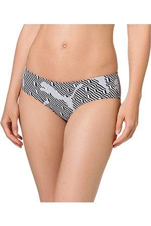 PUMA Dames Swim Women's All-Over-Print Hipster Bikini Bottoms