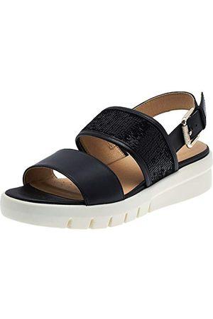 Geox D92DPB043AY, open sandalen met sleehak Dames 37 EU